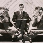 In between, director William Watson with Metro-Goldwyn-Mayer lion