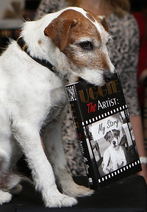 My story. Uggie the Autobi dog-raphy