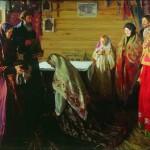 Peasants. Artist Ivan Kulikov (1875 – 1941)