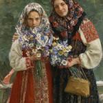 Russian artist Ivan Kulikov (1875 – 1941)