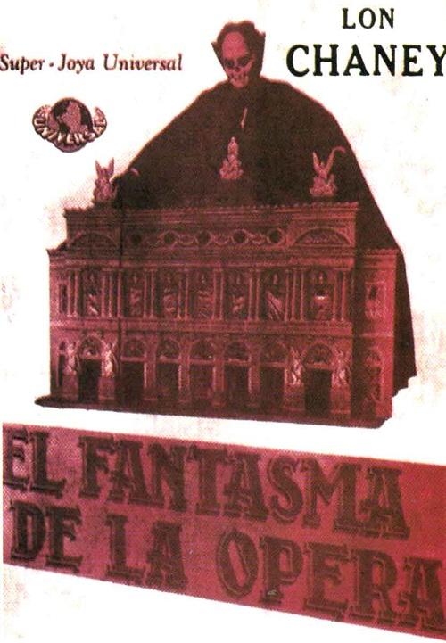 El Fantasma De La Opera – Phantom of the opera poster