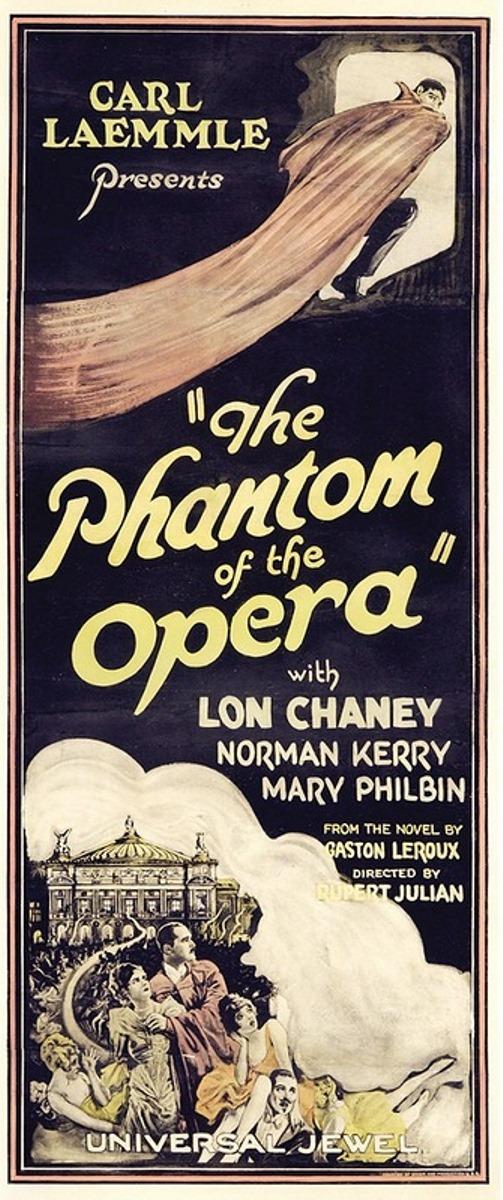 Universal jewel Phantom of the opera poster