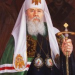 Portrait of Patriarch Kirill. 2012. Oil on canvas