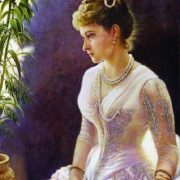 Portrait of the Grand Duchess Elizaveta Fyodorovna. canvas, oil. 2010