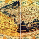 Ptolemy's view of the world, published 10 years before the first voyage of Columbus