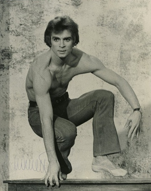 Born in USSR Rudolf Nureyev