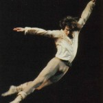 In a jump, Rudolf Nureyev