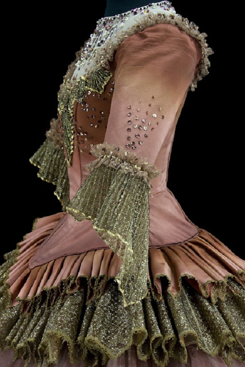 Costume for the Lilac Fairy Queen in Sleeping Beauty, Teatro alla Scalla, Milan, 1966