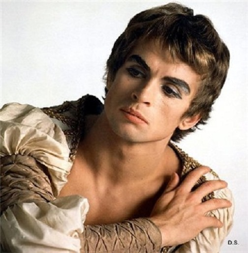 Color photo, Rudolf Nureyev