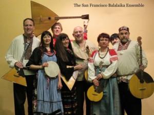 Russian music balalaika ensemble from San Francisco, California 'San Francisco Balalaika Ensemble'