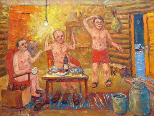 Russian sauna. 2007