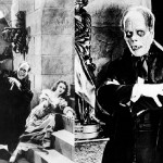 Scene from The Phantom of the Opera, 1925 silent horror film