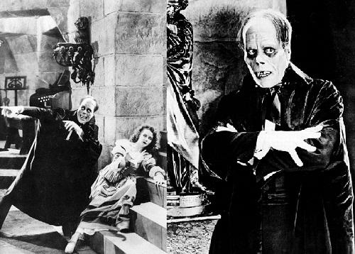 Scene from The Phantom of the Opera, 1925 silent horror film