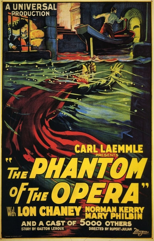 Story by Gaston Leroux Phantom of the opera poster