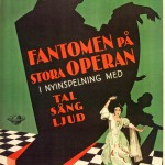 Swedish version of Phantom of the opera, poster