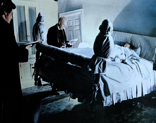 The scariest movie of all time 'The Exorcist', 1973