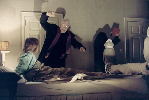 Horror film 'The Exorcist', 1973