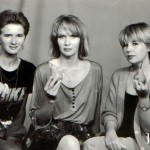 With a pear in hands. True female friends, photo of 1991. The year when the Soviet Union collapsed