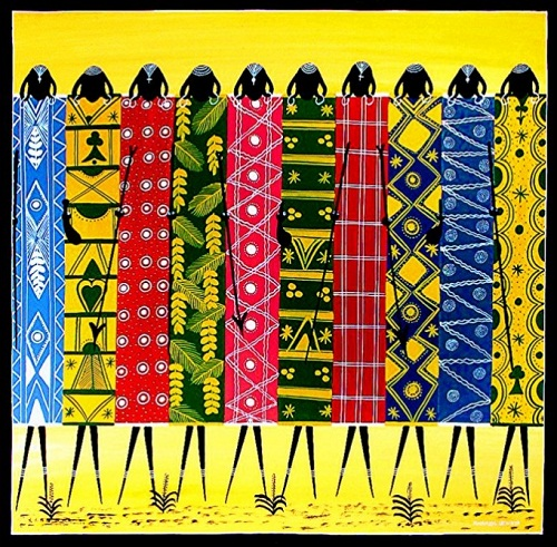 Tingatinga painting