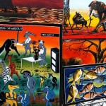 Paintings of Tingatinga art