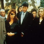 At the funeral. Twin peaks