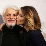 Beautiful daughter Violante Placido and her father Michele Placido