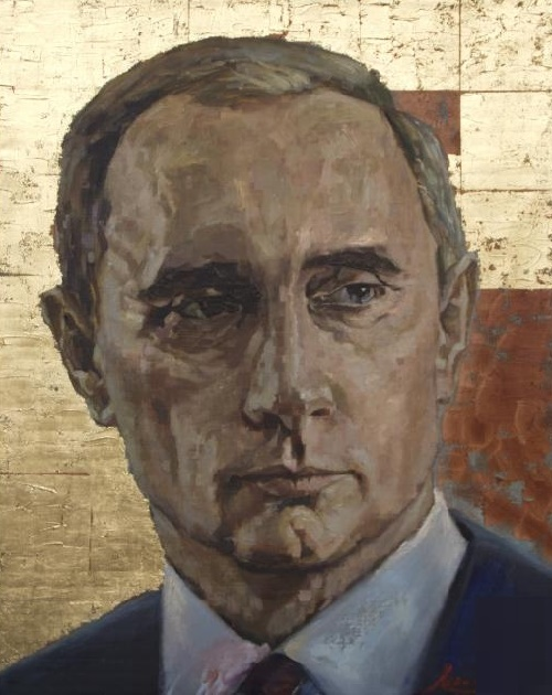 Vladimir. Oil on canvas. 2014. Painting by Russian artist Khalim Amirov