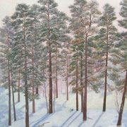 Winter morning. 2008. Oil on canvas