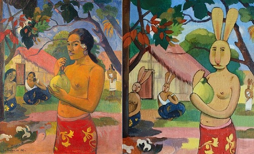 Dina Kalinkina greeting classic painters Paul Gauguin
