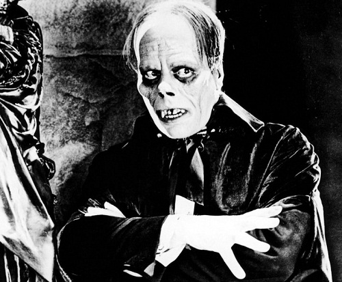 Actor Lon Chaney. One day during the filming Rupert Julian was so scared of Chaney's playing that he involuntarily groaned