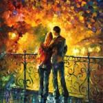 Painting Autumn Belarusian artist Leonid Afremov