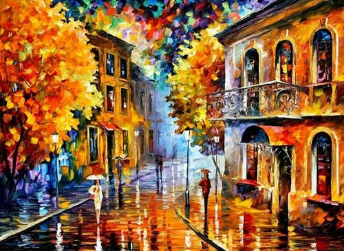 Autumn by Leonid Afremov