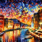 Venice. Painting by Leonid Afremov