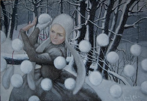 Winter tenderness by Natalia Syuzeva