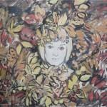 In the garden. Paintings by Moldavian artist Robert Andersen