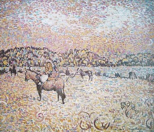 Paintings by Moldavian artist Robert Andersen