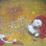 Summer dream. Painting by artist Robert Andersen