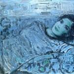 Dreaming of something. Painting by Robert Andersen