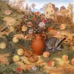 Apples. Painting by Russian artist Roman Urbinskiy