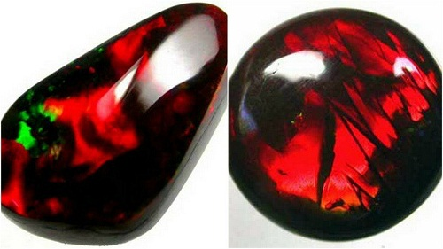 Red Opals