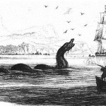 sea monsters that inhabit the ancient seas and imagination of seafarers
