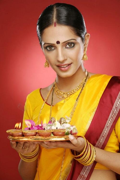 Magic beauty of Indian women