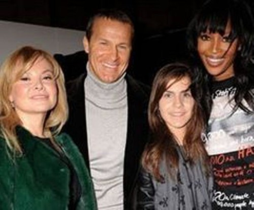 Vladislav Doronin, his ex wife, daughter and Naomi Campbell