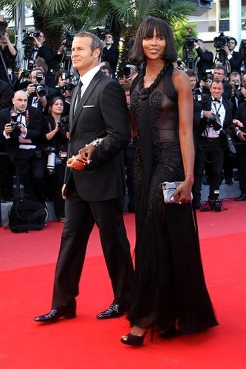 At the film festival. Vladislav and Naomi