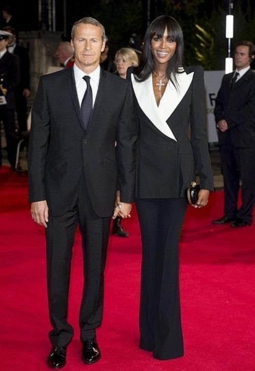 Vladislav Doronin and Naomi Campbell