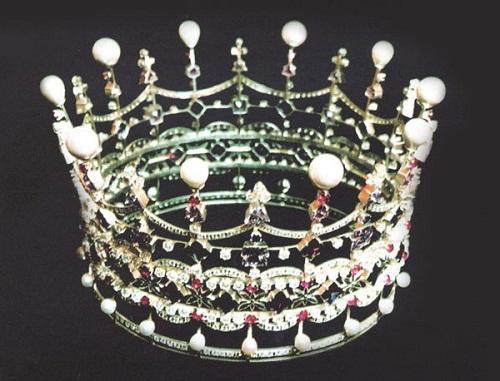 crown by Kiev jewellery factory