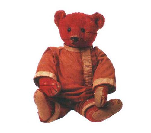 Favorite toy bear of princess Xenia, Alfonzo