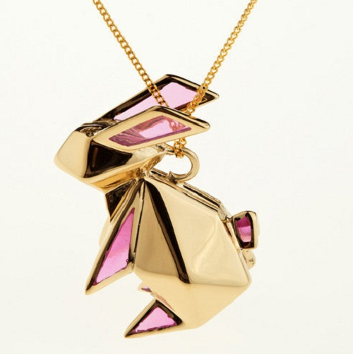 Origami Jewellery by Claire and Arnaud