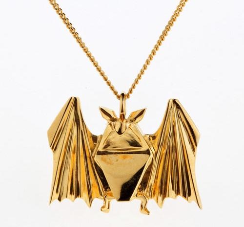 Beautiful origami jewelry