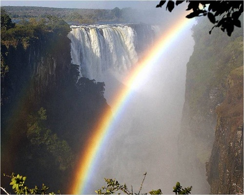Arcoiris en Iguazú